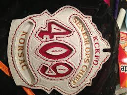 fire department helmet fronts