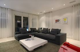 image of contemporary modern curtains for living room