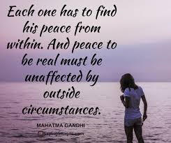 Peaceful Quotes Delectable 48 Peace Quotes That'll Calm Your Anxious Mind SayingImages