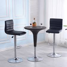 modern leather bar stools. Set-of-2-Bar-Stools-PU-Leather-Modern- Modern Leather Bar Stools A