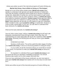 factual essays compare and contrast essay example for middle  calam eacute o martial arts essay how to write an essay on this subject