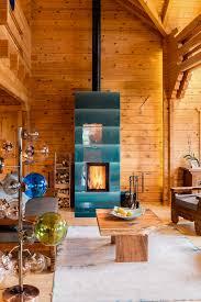 Blaue Kacheln Im Rustikalen Wohnraum Zugegeben Sehr