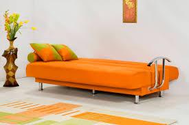 Brenda Orange Sofa Bed by Kilim