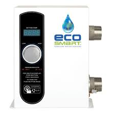 How Do Hot Water Heaters Work Ecosmart 36 Kw 240 Volt Self Modulating 6 Gpm Electric Tankless