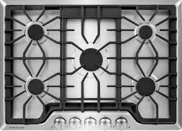 cooking s frigidaire gallery 30 5 burner gas cooktop stainless steel