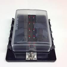 10 way blade fuse box with led fuse failure indicator fbb10l 10 way fuse board 10 Way Fuse Box #49