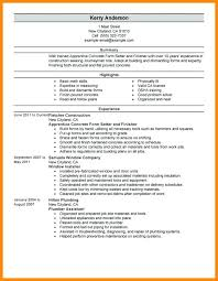 Technical Resume Objective Examples Best Hvac Resume Objective Hadenough