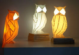 Paper lighting Diy Homecrux Origamiinspired Paper Lamps Bring Wildlife To Your Table