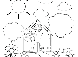 Coloring Worksheets For Kindergarten Pages Free Printable Flowers ...