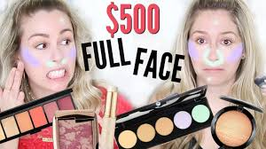 500 full face first impressions new makeup highend