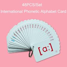 .learning the international phonetic alphabet can transform your english learner experience. 48pcs Set English Flashcards International Phonetic Alphabet Card Educational Learning Portable Table Game Toys For Children Aliexpress