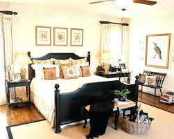 bedroom colors with black furniture. Black Bedroom Furniture Decorating Ideas Via Obsessed Fabulous . Colors With I