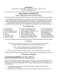 Safety Officer Resume Sample Construction Cover Letter Safety Officer Inspiring Examples Resume