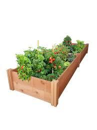 11 redwood raised garden bed