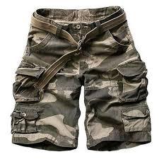 New 2016 Summer Style mens casual army <b>camo</b> cargo shorts ...