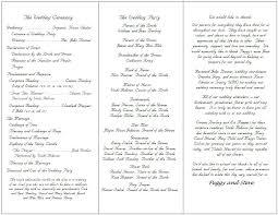 Catholic Wedding Ceremony Program Templates Catholic Wedding Ceremony Template Catholic Wedding Ceremony Program