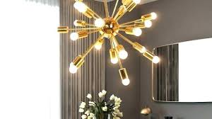 small sputnik chandelier gold sophisticated at lawrence sput