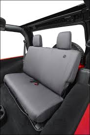 just jeeps bestop custom tailored rear seat covers in charcoal for 2008 12 jeep wrangler jk unlimited 4 door models for ca 239 95 jeep parts in