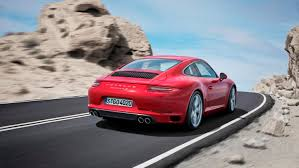The new Porsche 911 Carrera