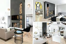 double sided indoor outdoor fireplace examples of how to incorporate a double sided fireplace into your