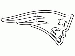 new england patriots football coloring pages
