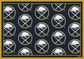 buffalo sabres nhl team repeat area rug buffalo sabres area rug
