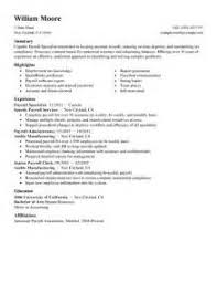 tax specialist resume tax specialist resume absolutely design payroll resume 5 best
