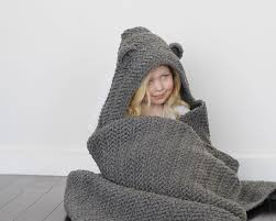 Hooded Blanket Crochet Pattern