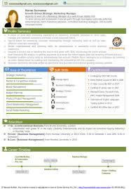 Visual Resume Templates Uxhandy Com