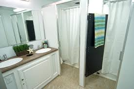 shower stall curtain 8 stall shower trailer 4 shower stalls with curtain and adjacent separate changing shower stall curtains 54 x 72