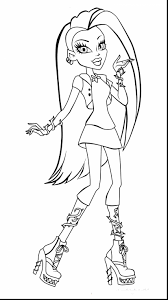 Small Picture Monster High Free Coloring Pages To Print Affordable Monster High