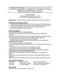 functional format resume sample functional format templates example of a resume functional resume