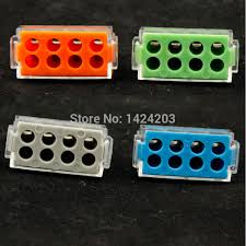 20pcs lot wago wire connector 773 108 push wire wiring connector for junction box