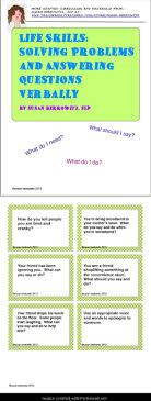 best ideas about problem solving mindfulness for life skills solving problems and answering questions verbally