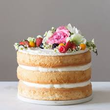 See more ideas about cupcake cakes, cake fillings, desserts. How To Ditch The Fondant And Make Your Own Naked Wedding Cake Brit Co