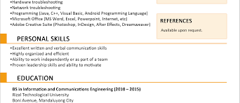 Fantastic Jobstreet Resume Sample For Fresh Graduate Contemporary