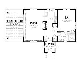 1 bedroom house plans. 1 Bedroom Floor Plans Incredible 20 AFLFPW23239 Story Mediterranean Home With Bedroom, 1. » House