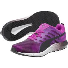 puma shoes purple. puma women shoes flare graphic running purple cactus flower-periscope-white