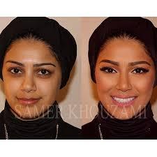 samer al shawish khouzami makeup transformation beauty style