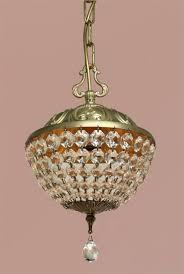 Kristallleuchte Deckenlampe Lüster Apple 24cm Leuchte Lampe Kronleuchter 1691