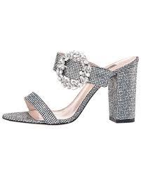 Sjp By Sarah Jessica Parker Celia Embellished Sparkle Slide