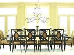 swag chandelier over dining table interesting design for small room cool chandeliers