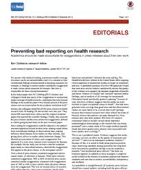 my bmj editorial how can we stop academic press releases  my bmj editorial how can we stop academic press releases misleading the public