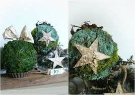 Decorating With Moss Balls Moss Ball Decorate For Christmas Ideas For Festive And Naturally 20