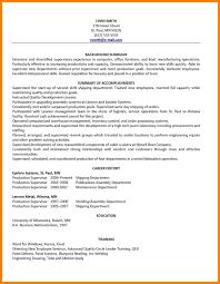 Sample Employment Resume Haadyaooverbayresort Com