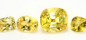 Natural Sapphire Color Chart Yellow Sapphires A Guide To Judging Color In Yellow Sapphires