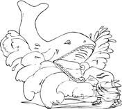 Small Picture Story Of Jonah And Whale coloring page Free Printable Coloring Pages