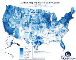 New York State Tax Chart 2015 The Latest On Property Taxes Tax Foundation