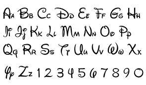 Disney Font Disney Font Free Download