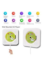 portable cd player upgraded wall mounted 5 in 1 cd player